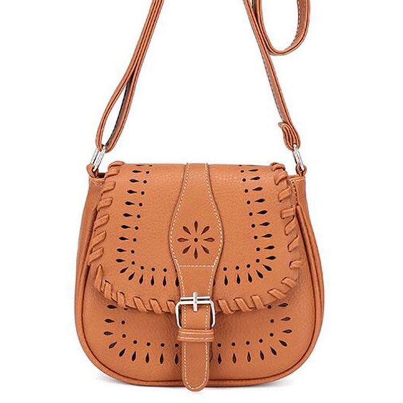 Wholesale New Hollow Out Design Women Bag Vintage Women Messenger Bags Pu  Leather Designer Handbag Shoulder Bag 9l02 Bags For Women Cheap Designer  Bags From ... fd8a5cea45eb9