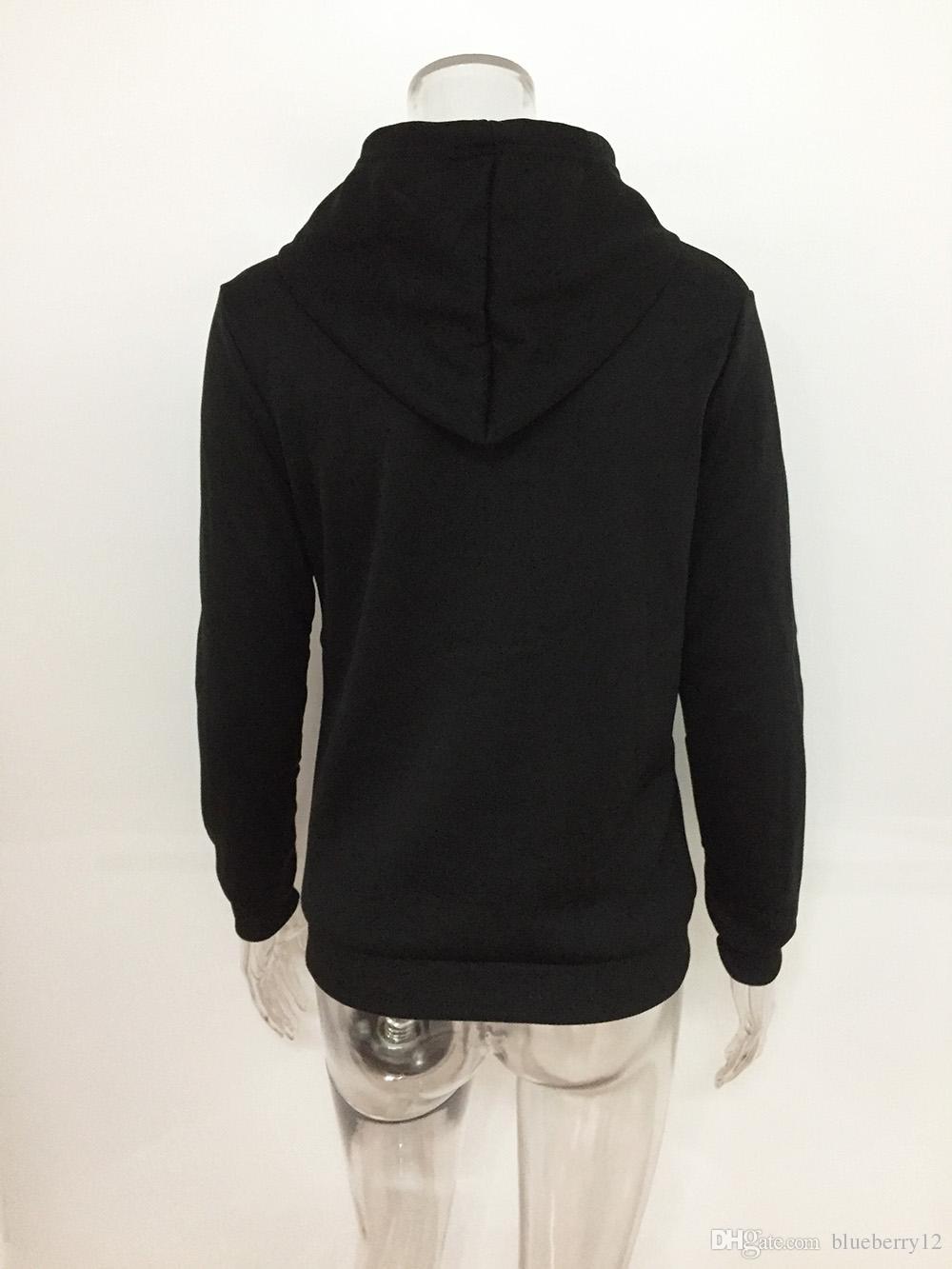 Fashion American Eur Style Herbst Pullover Einhorn Printed Long-sleeved Frauen Pullover Casual Hoodies Top Kleidung