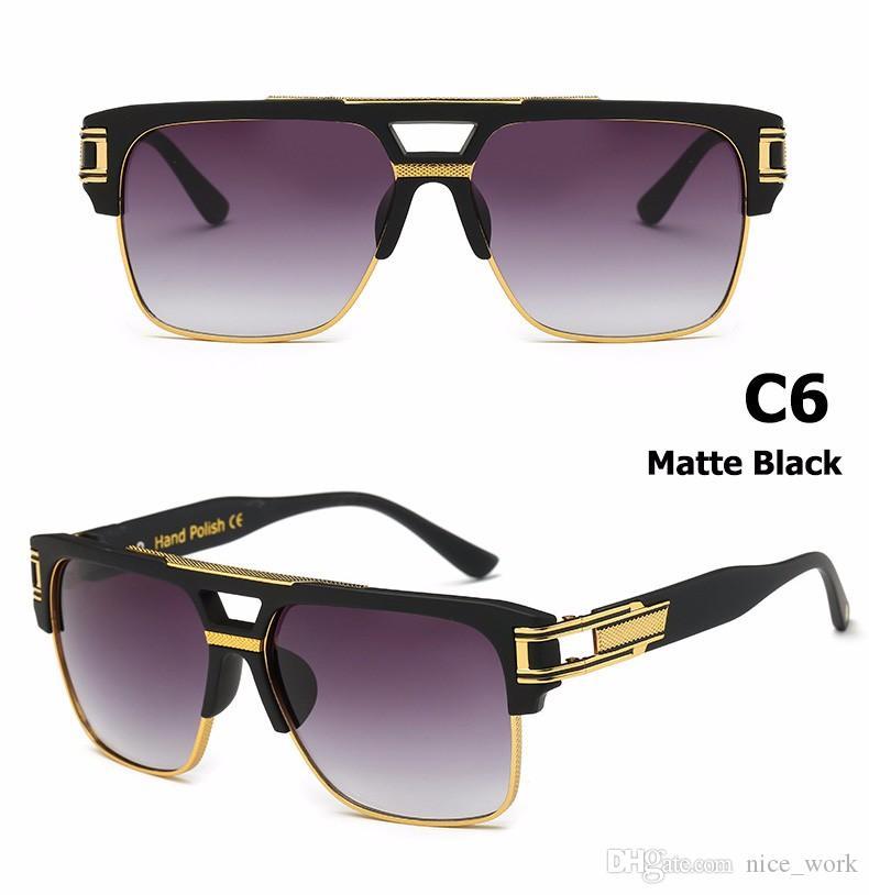 Compre Marca Gafas De Sol 2017 D Grandmaster Four Style Gafas De Sol ...