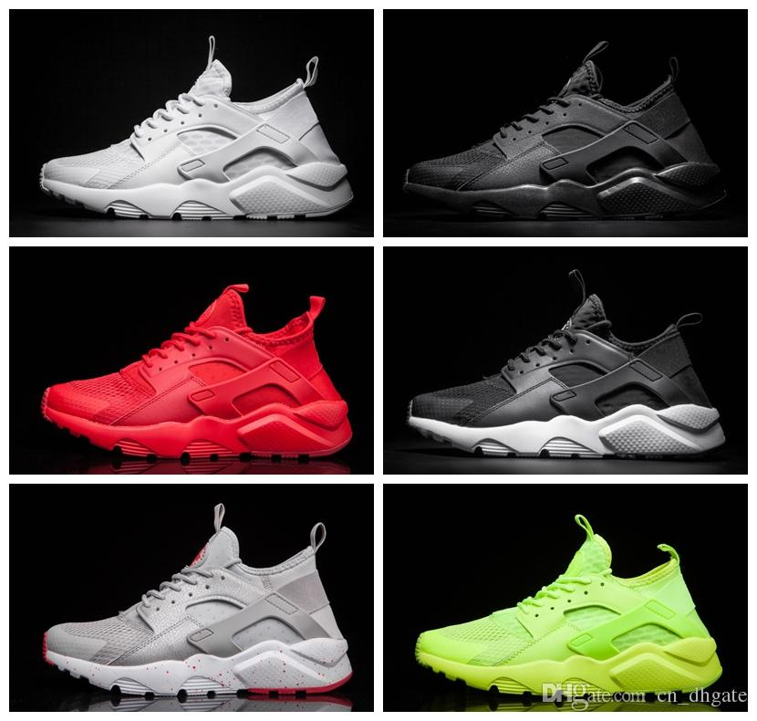 b1912a63db614 New Run Design Air Huarache 4 Iv Running Shoes For Men Women Lightweight  Huaraches Huraches Athletic Sports Outdoor Harache Sneakers Latest Shoes  Top ...