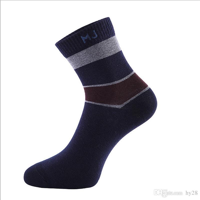 Calzini del sudore del cotone degli uomini elite liberi di trasporto i calzini di sport all'aperto degli uomini deodoranti respirabili degli uomini caldi