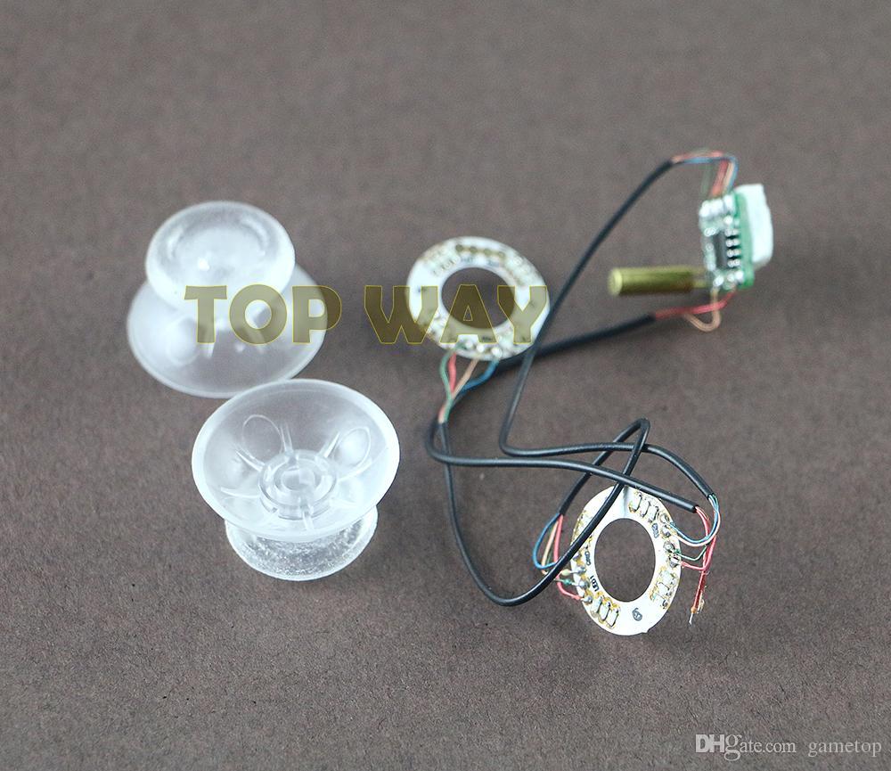 Für Playstation 4 PS4 DIY Zubehör Lumineszierendes Panel Licht emittierende Platte Für XBOX ONE Controller