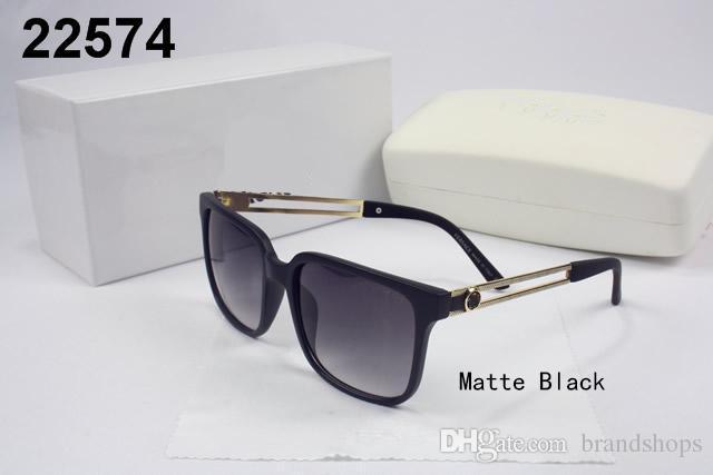 Yüksek kalite Lüks vintage İtalya marka tasarımcısı gölge temiz moda boy erkekler kadınlar için alaşım güneş gözlüğü ile gözlük orijinal vaka