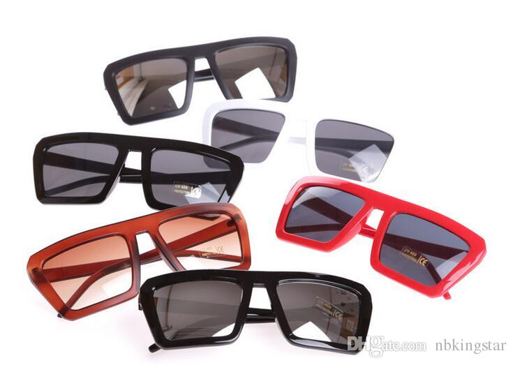 Fashion Oversized Sunglasses Luxury Square Sun Glasses men Summer Style Classic Women Sun glasses Big Square UV400