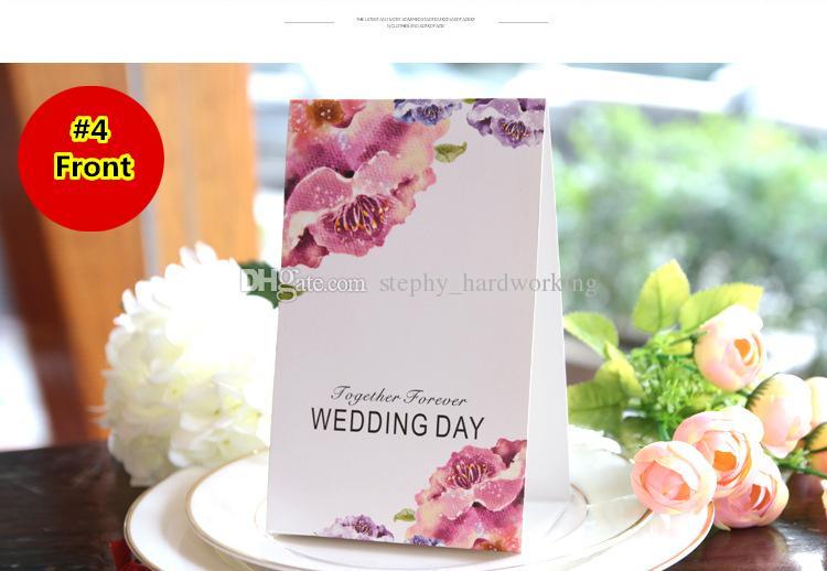 Favores Do Casamento de qualidade Do Partido Floral Nome Da Tabela Do Lugar Cartão de Número Cartão de Lugar Cartão Para Lembrança De Casamento Suprimentos Favores E Presentes Do Partido