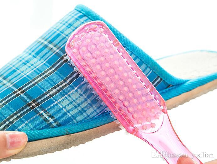 Scarpe di decontaminazione di alta qualità di colore di caramelle di cristallo forte scarpe di pulizia scarpe di buona qualità pennello CB007 mescolare l'ordine come le tue esigenze