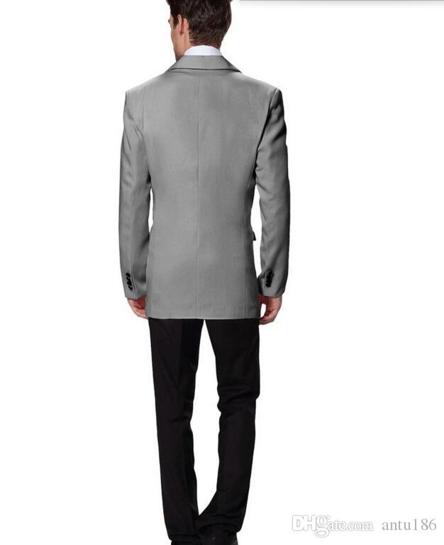 Yeni tasarım erkekler Damat Smokin takım elbise yüksek kalite Erkekler Düğün İş erkekler için Takım Elbise Damat takım elbise suits ceket + pantolon