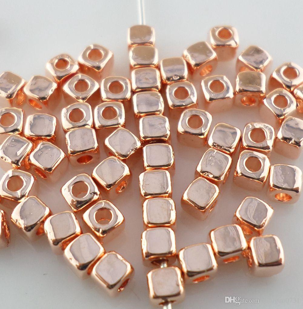 Würfel Kristallglas Lose Perlen Fit Schmuck DIY Making 100PCS W4Z1