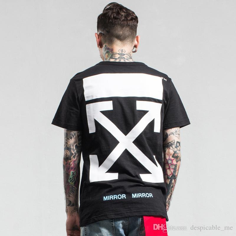 Summer Off White T Shirt Men 2017 Our Lady Religion Jesus Printing ...
