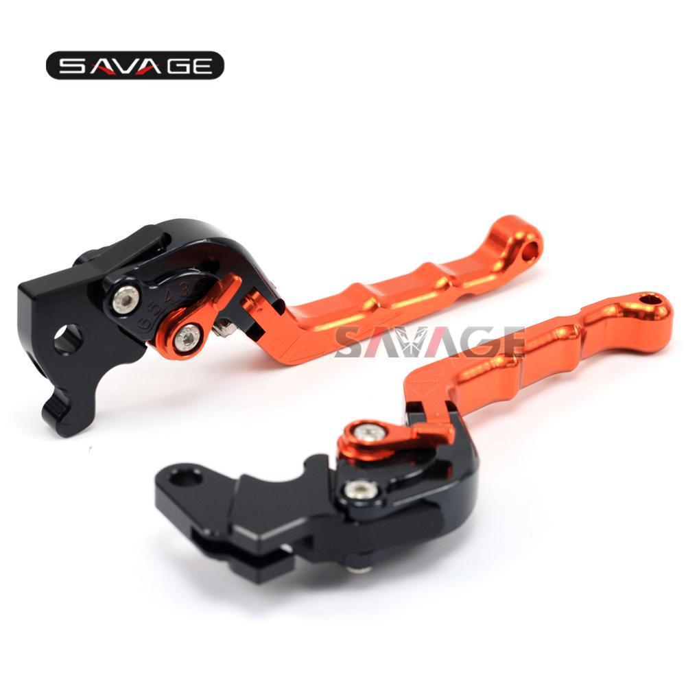 For HONDA CBR 125R CBR125R 2004-2015, CBF 125 Stunner 09-14 Adjustable Folding Retro Brake Clutch Levers Motorcycle Accessories