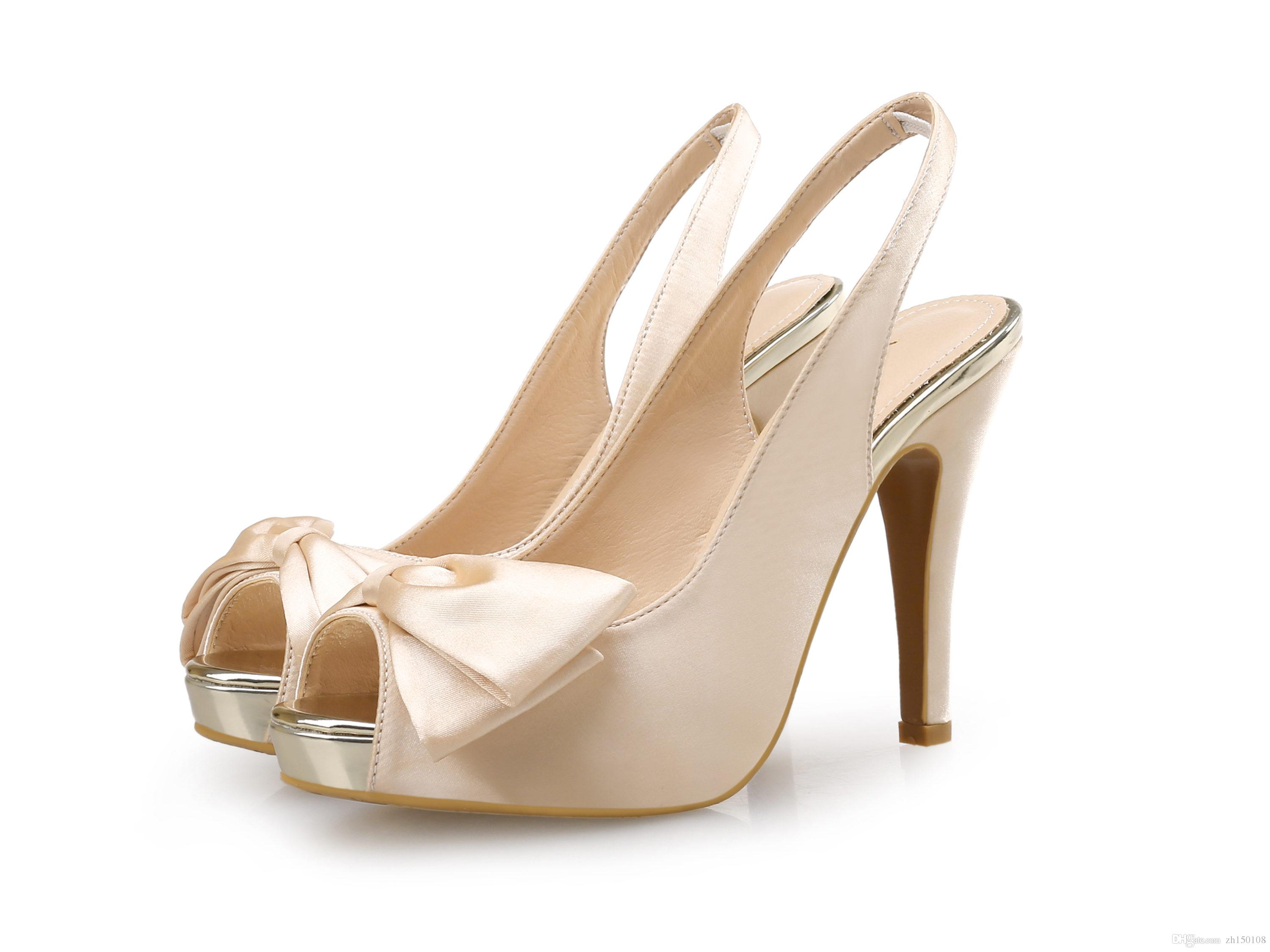 New Fashion Concise Nude Suede High Heels Sandals Women Ankle ...