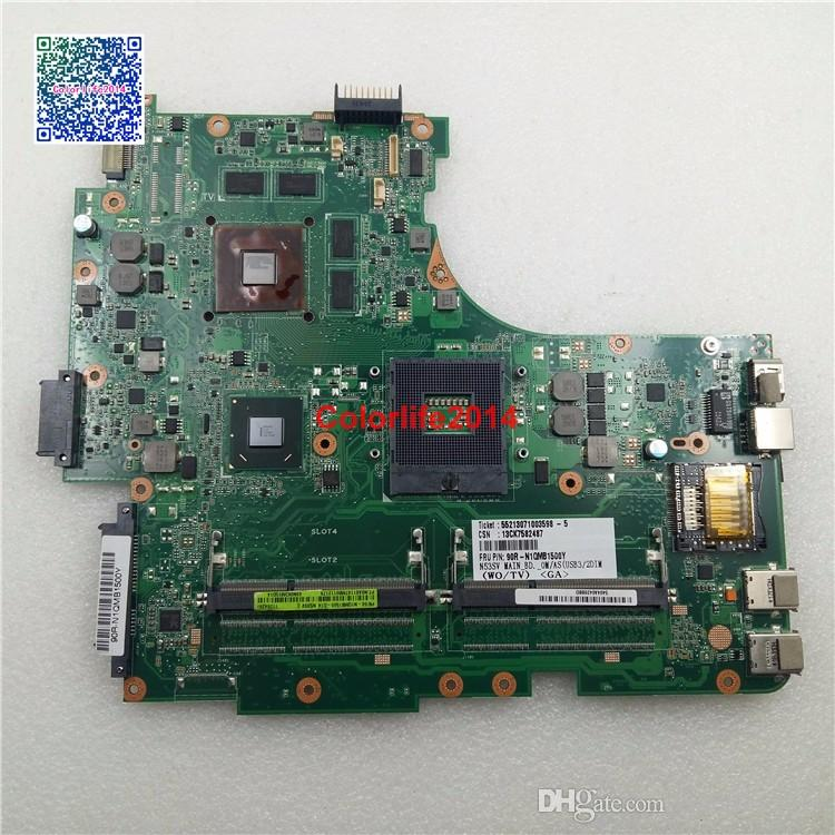 60-N1QM1500-D14 69N0K3M15D14 REV 2.2 Asus N53SV Motherboard w N12P-GS-A1 Mainboard Fully Tested