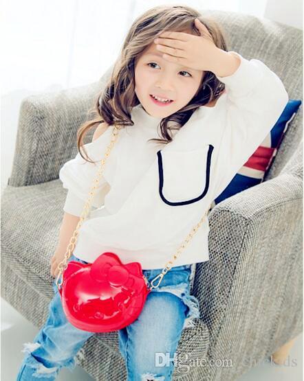 Dhl-freies verschiffen kinder mode gelee umhängetaschen kinder kleine niedliche design brieftaschen kinder schöne umhängetasche vorschule mädchen tasche ck139
