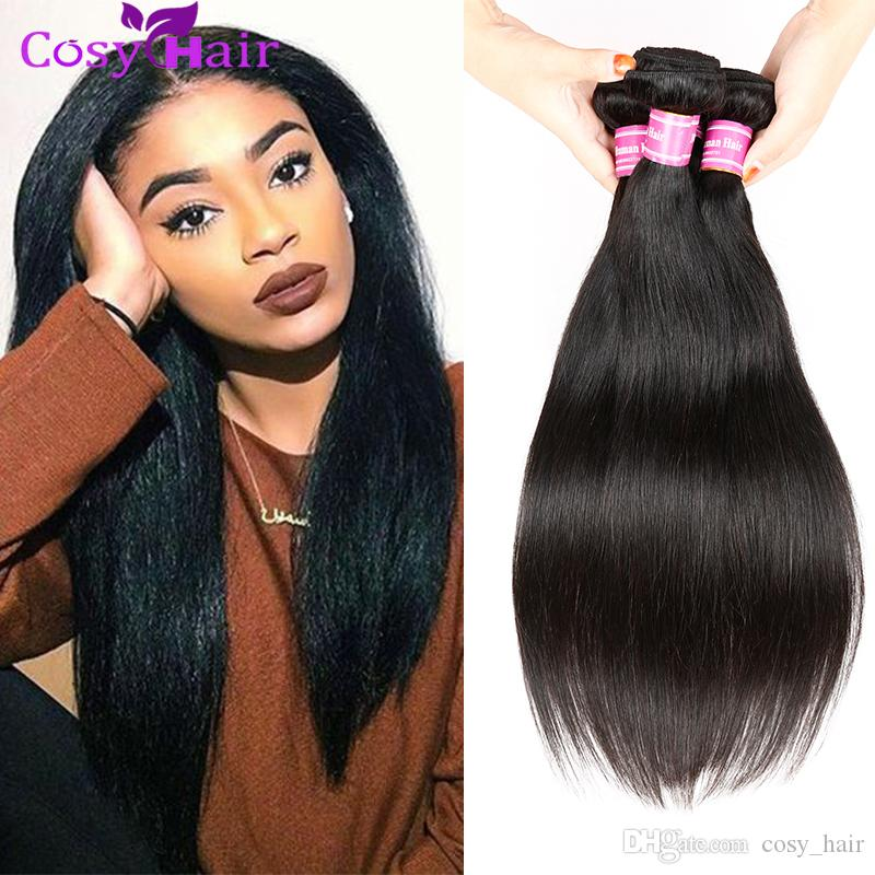 Cheap remy human hair extensions 4 bundles malaysian virgin hair cheap remy human hair extensions 4 bundles malaysian virgin hair straight bundles natural black hair weave styles 8 26 inch mixed length hair weave pmusecretfo Gallery