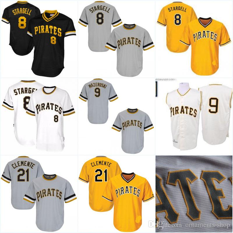 66e1b9b4 2019 Men'S Pittsburgh Pirates Throwback Jersey Kent Tekulve 1982  Cooperstown Collection #8 Willie Stargell Baseball Jerseys From Ornaments  Shop, ...