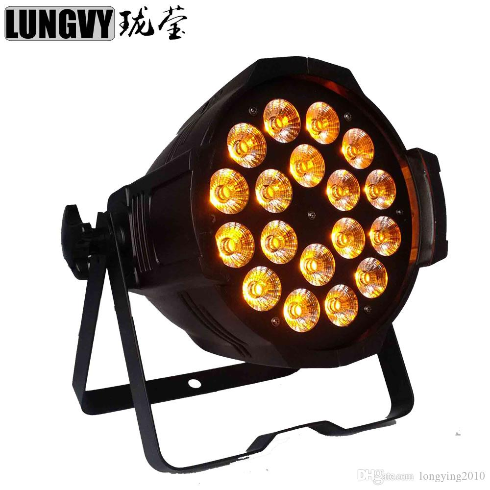 2018 Best Price Led Par Can Light 18*18w 6in1 Rgbwa Uv Led Indoor Par64  Light Big Show Event Club Colorful Backdrop Dj Led Light From Longying2010,  ...