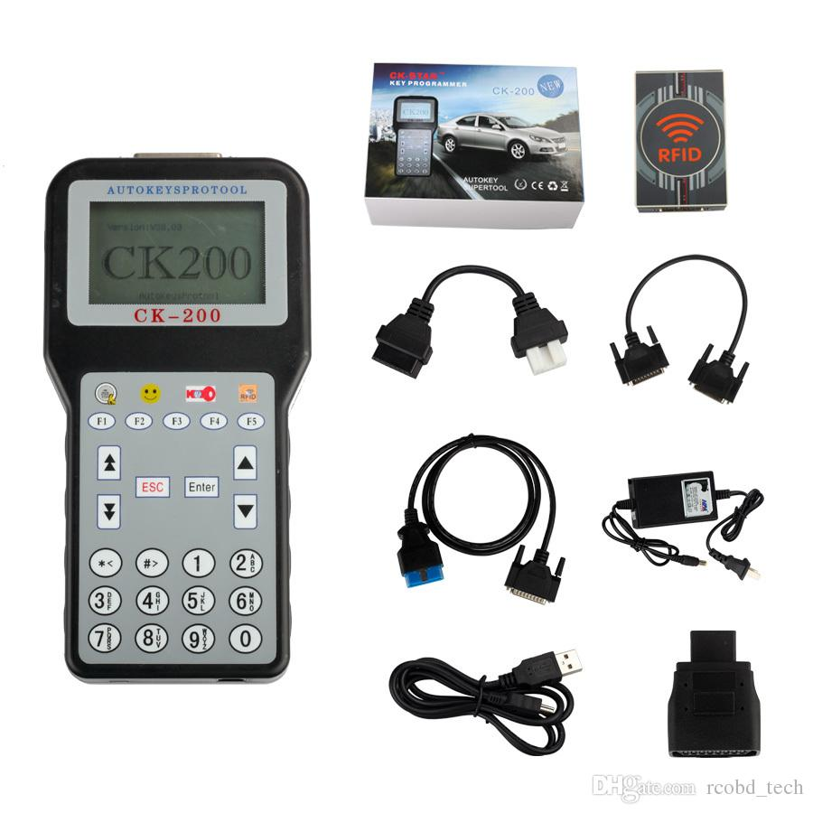 Best price V40.09 CK-200 Original CK200 Auto Key Programmer No Tokens Limitation Newest Generation Updated Version of CK-100