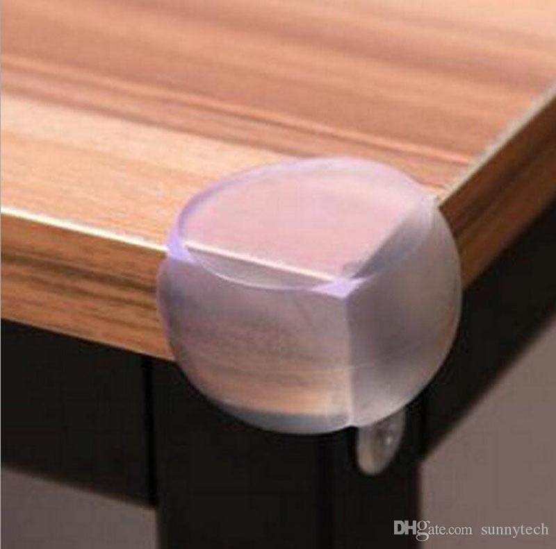 شكل رعاية الطفل سلامة الأطفال الكرة ركن الحرس حامي شفاف الجدول لينة حافة المضادة للتصادم وسادة مع لاصق ملصق ZA1463