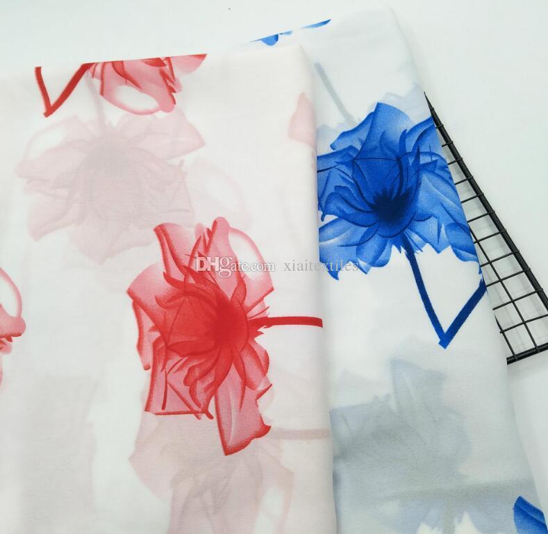 wholesale Milan chiffon tulle fabrics Wedding dresses, print satin floral tweed cheap-silk shirt lace fabric scrapbooking patches B740
