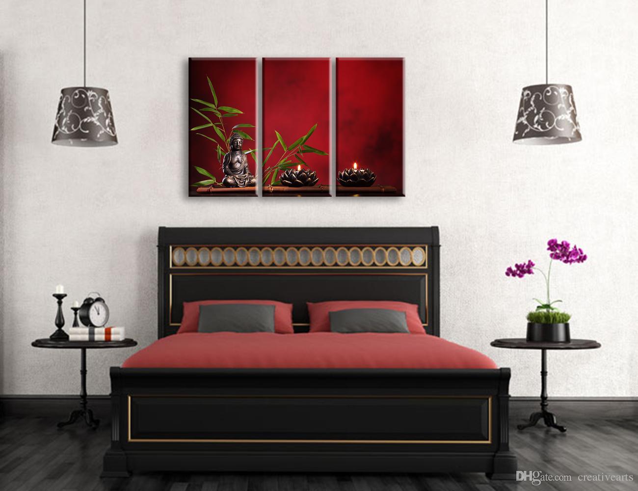 Acheter Zen Sans Cadre Bouddha Image Toile Impressions Toile Mur Décor  Moderne Chambre Décoration 17cmx17cmx17 De 117,17 € Du Creativearts   DHgate.Com