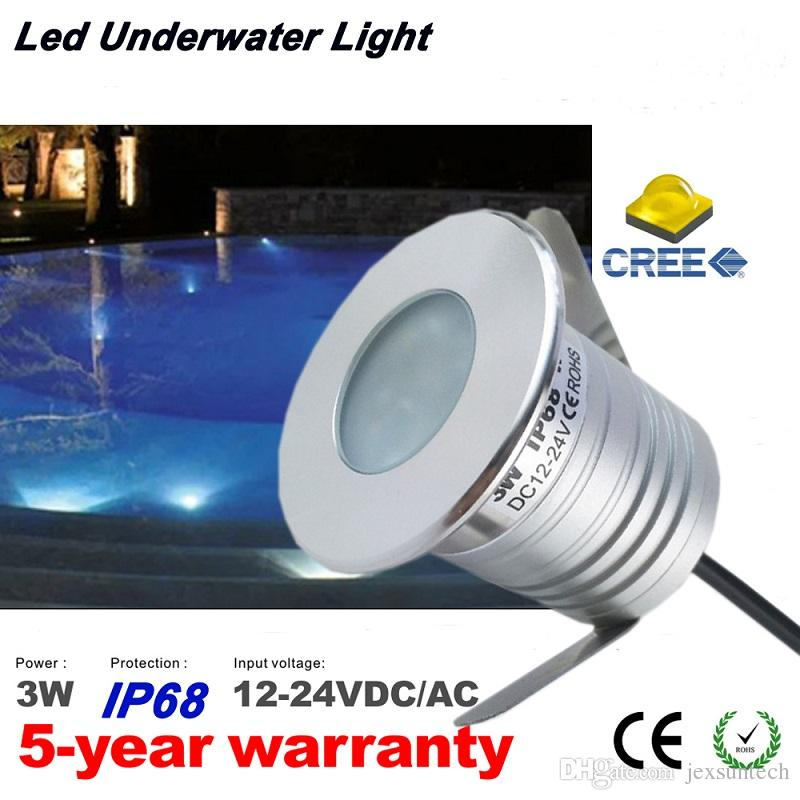 2019 Small Low Voltage 12v Recessed Led Swimming Pool Light Ip68 Underwater Pool Lights Outdoor