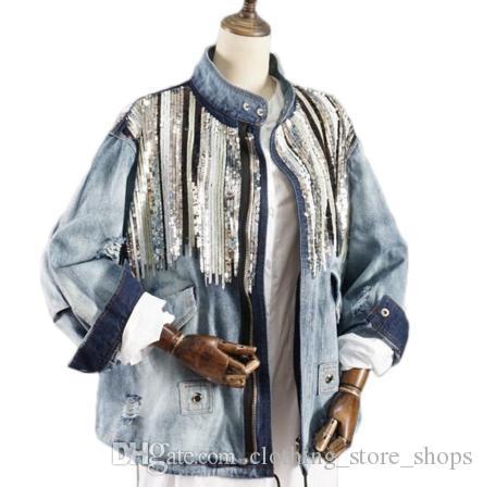 Blaue vintage jacke