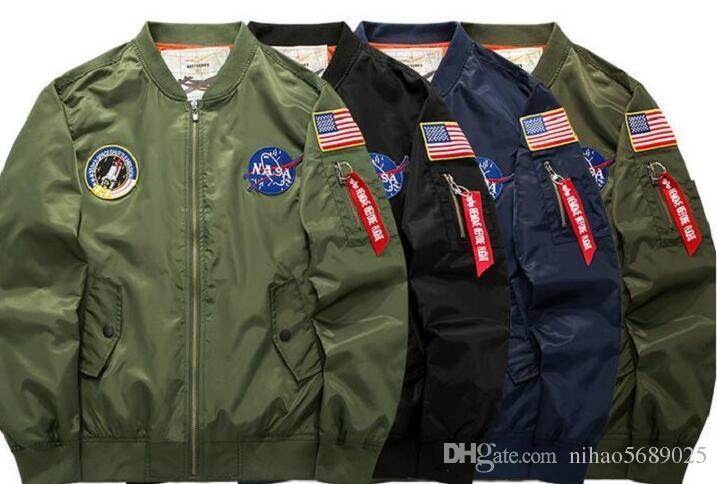 Stile Mens Militare Giacche Giacca Acquista Vento Uomo A Pilota Volo 7RwPfqA