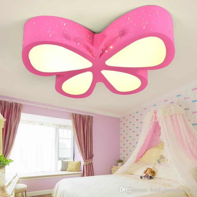 Großhandel Kinderzimmer Deckenleuchten Schlafzimmer Lampe LED ...
