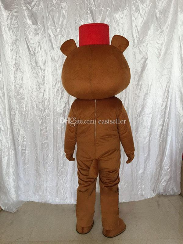 El oso pardo propone muñecas de dibujos animados trajes de mascota accesorios de disfraces de Halloween envío gratis