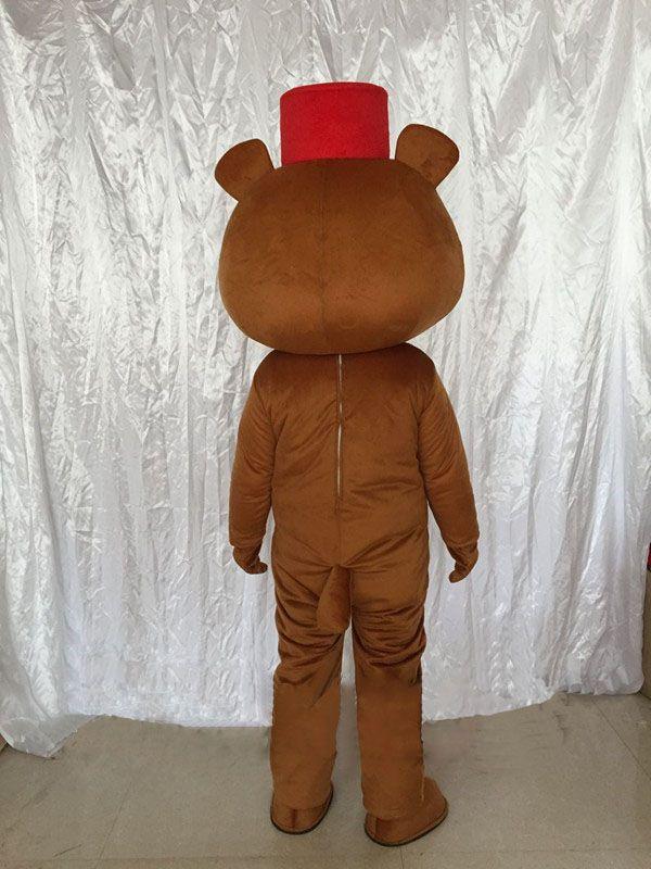 L'orso bruno propone costumi di Halloween costumi di costumi di bambole del fumetto costumi gratuiti Halloween