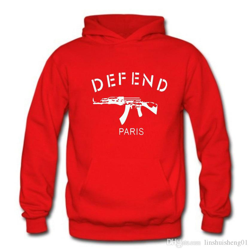 Autumn Winter Men/Women's Sweatshirt Print Defend Stylish Sweat Shirts Hip Hop 3d Pullovers Hoodies Sportswear