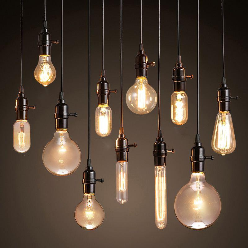 Vintage Pendant Lights American Style Lamp Industrial Lighting