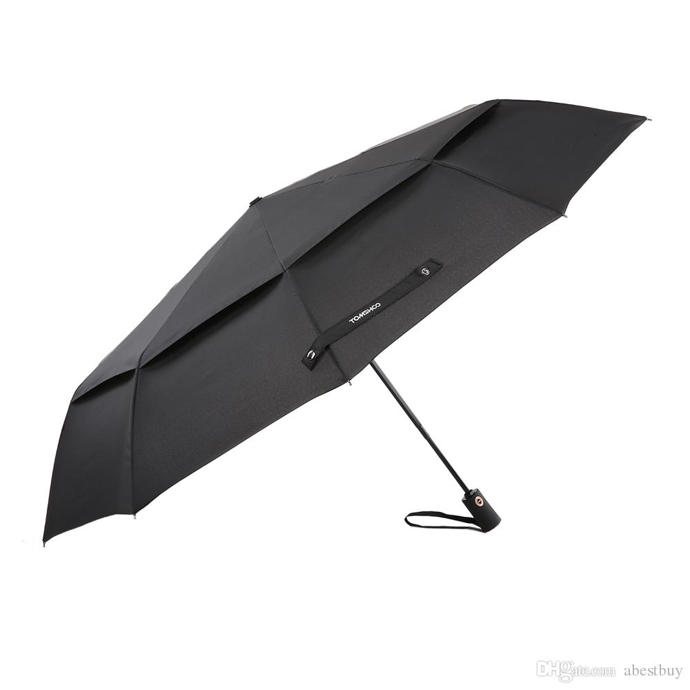 2018 Tomshoo Windproof Double Canopy Umbrella Automatic Auto Open Close Umbrella Automatic Folding Travel Golf Umbrella With 10 Ribs Y4107x From Abestbuy ...  sc 1 st  DHgate.com & 2018 Tomshoo Windproof Double Canopy Umbrella Automatic Auto Open ...