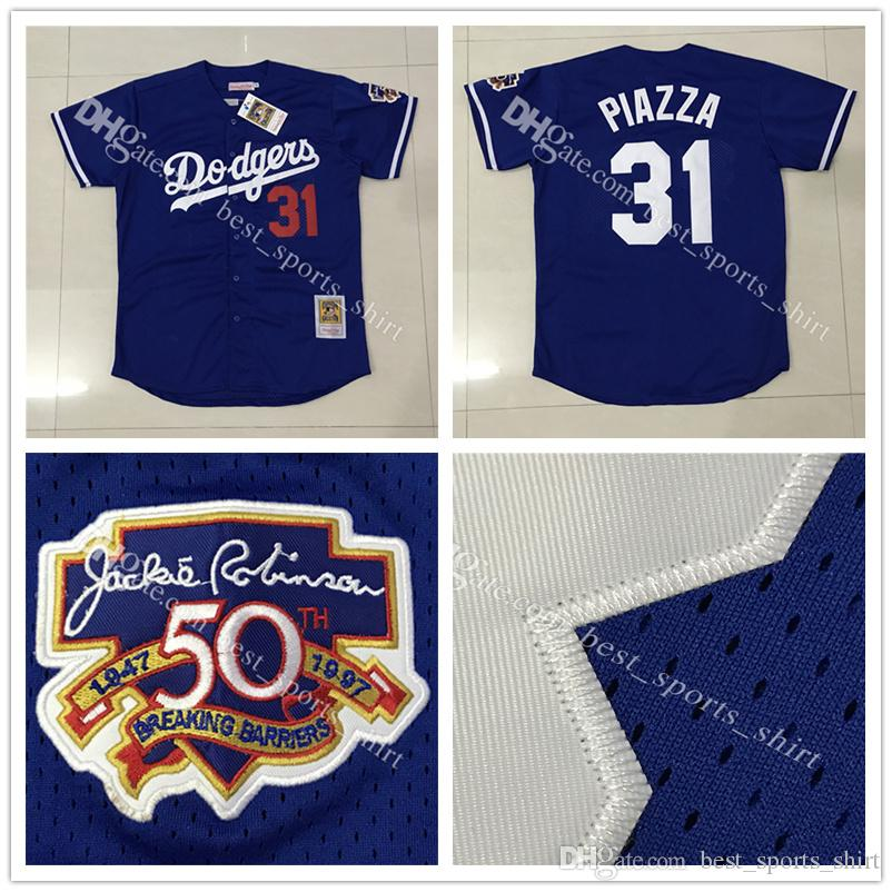 cheap for discount 6d178 cb743 31 mike piazza jersey dodgers
