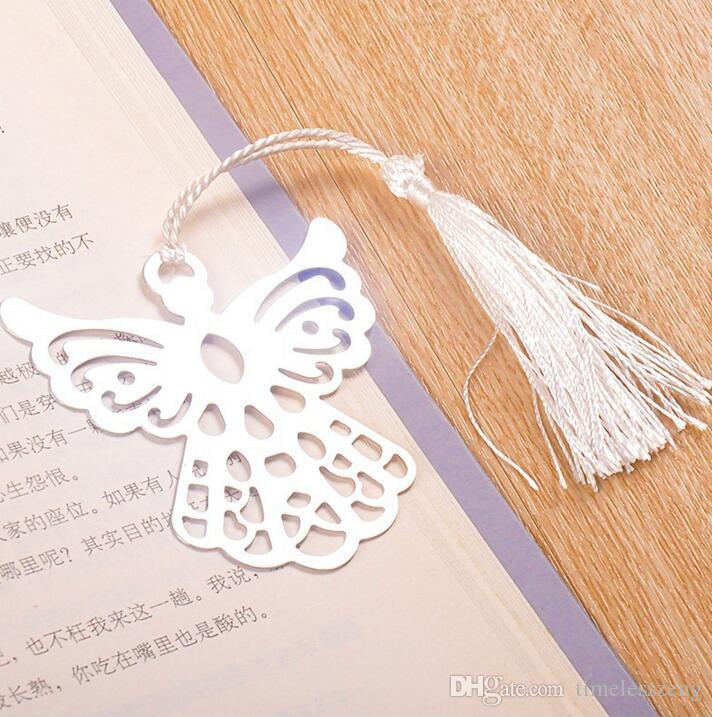 Wedding supplies metal bookmark Hollow stainless steel eagle bookmark Creative holiday party small gifts Gift box packing