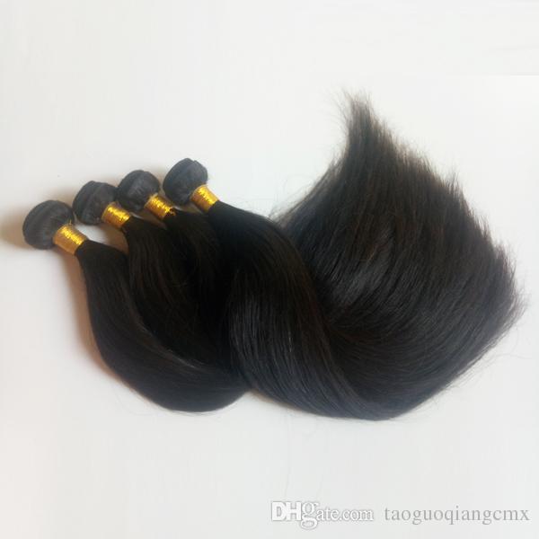Unprocessed Black women Brazilian Peruvian Virgin Hair good ratio Thick Bottom,No Shedding Malaysian Indian Remy hair Weft in stock