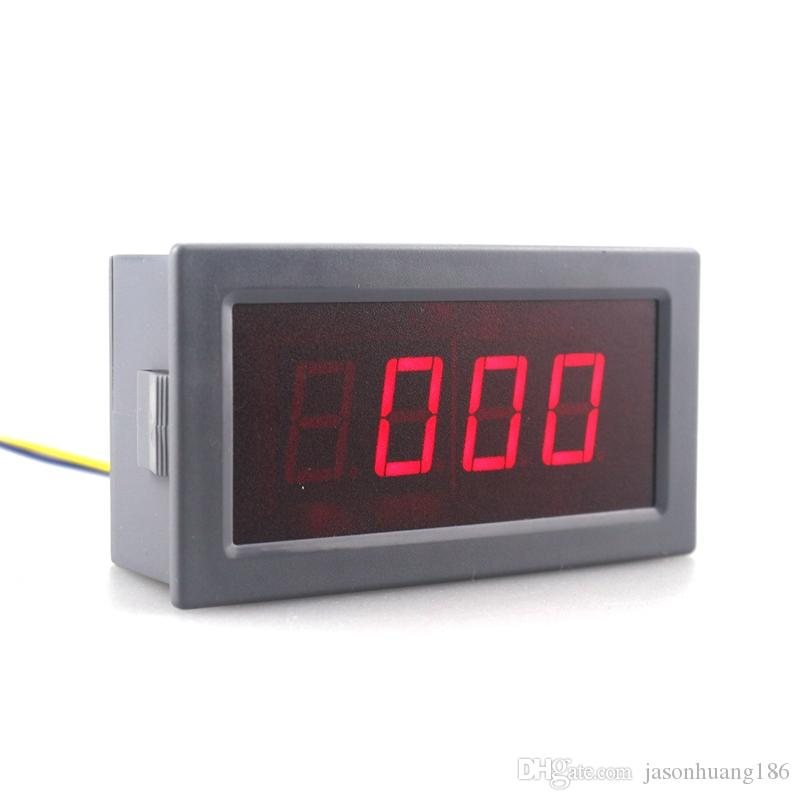 High Accuracy Digital Ammeter DC -500A to +500A Amp Tester Positive and Negative Current Panel Meter 5V Red LED Display