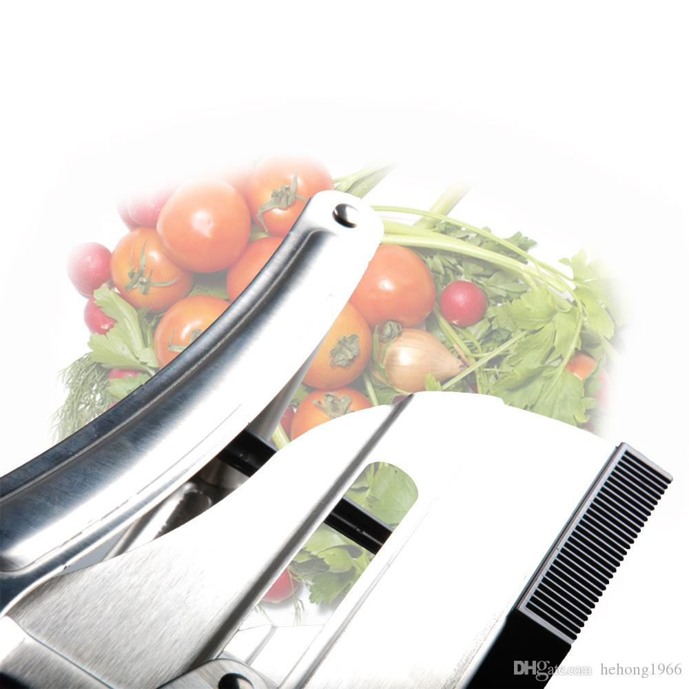Metal French Fry Cutter Potato Slicer Durable Strip Cutter Potato Chipper Easy Operation Cutting Tools Quickly Slitting For Fruits 29sp R