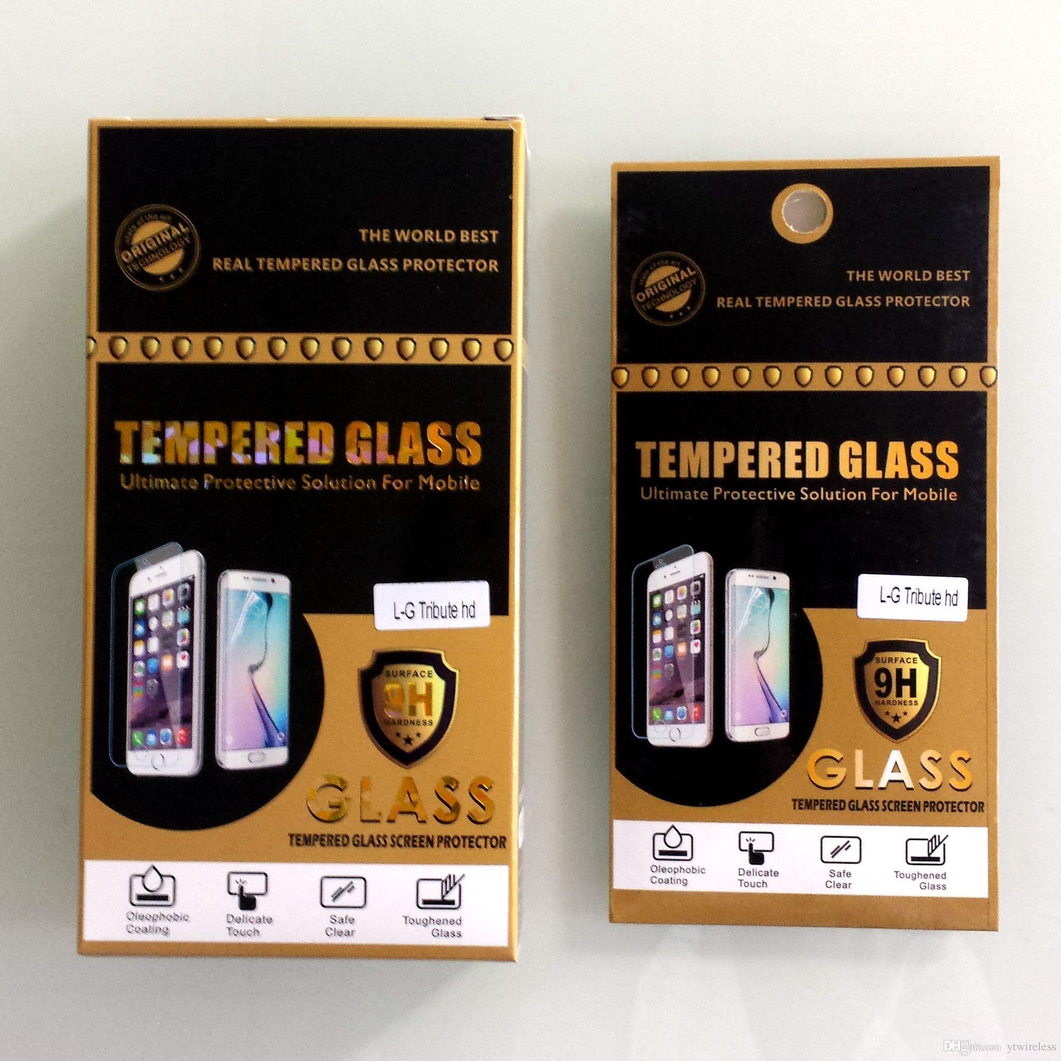 For Samsung Galaxy Core Max Core Advance Core Plus Core Lite Core 2 Hard Protective Premium Tempered Glass Screen Protector Paper Packaging