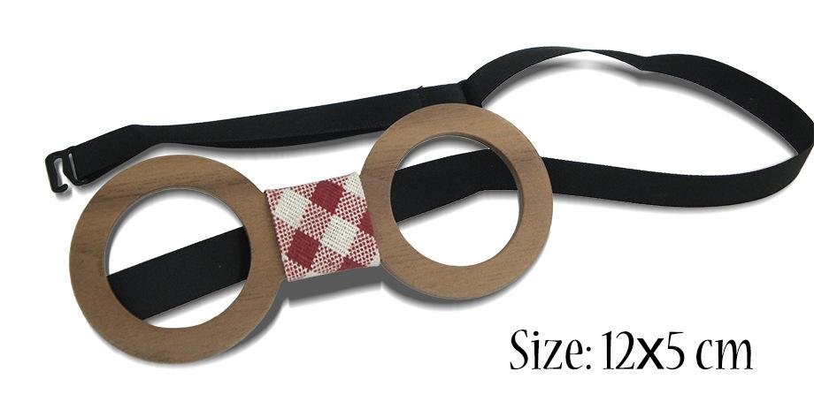 Óculos De Madeira Bowtie 20 estilos Handmade Do Vintage Tradicional escultura Bowknot Para negócios paty casamento Bow tie 12 * 5 cm Para adultos