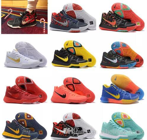 superior quality 73166 3876c ... clearance cheap kyrie 3 new basketball men basket ball orange crossover  shoes sport cavs kyrie irving