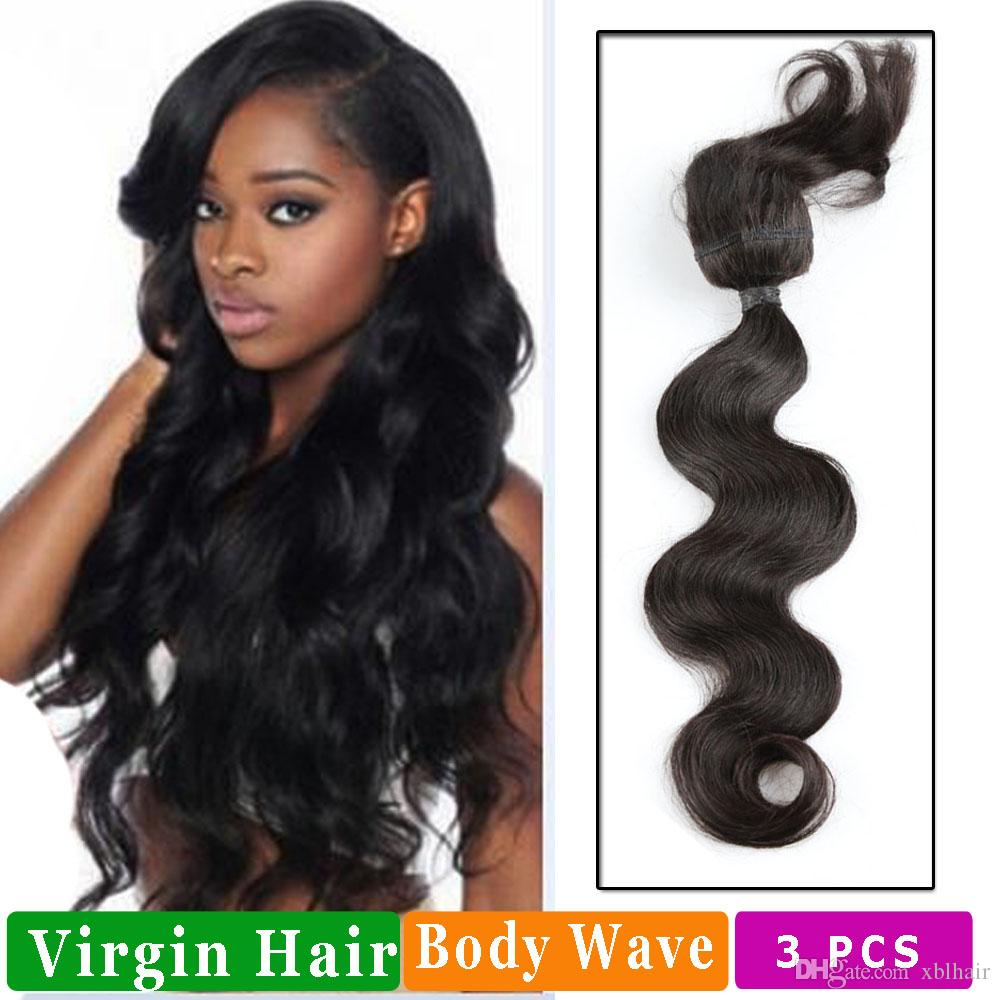 Straight Braid In Bundles Virgin Brazilian Perivian Malaysian Indian Hair Straight And Body Wave Hair Extensions