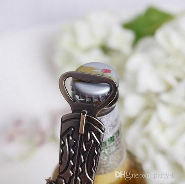 Creative Cowboy boot Design Beer Bottle Opener Best Wedding Gift and Party Favors