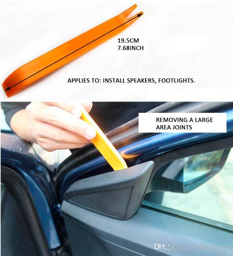 Car Plastic Trim Removal Tools Set Open Panel Radio Door Clip Automobile Dash Audio Remover Pry Prying Repair