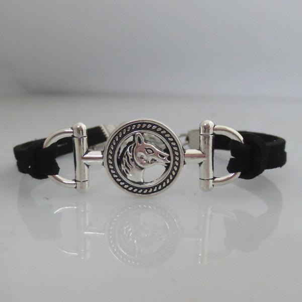 f85d0eb3a04b0 Wholesale-infinity horse bracelet charm girl woman man bracelets jewelry  horse jewelry gift for girl