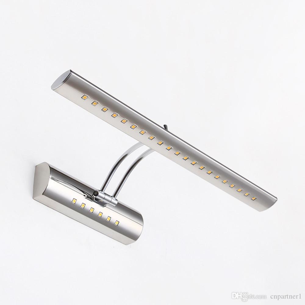 5w Éclairage Bains De Cm Smd5050 Ce Miroir Degrés Étanche Ac85 Qualité Lampe Bras 180 Pour Rohs 55 Haute 7w Rotatif Salle 265v Led 40 A4LSj3Rqc5