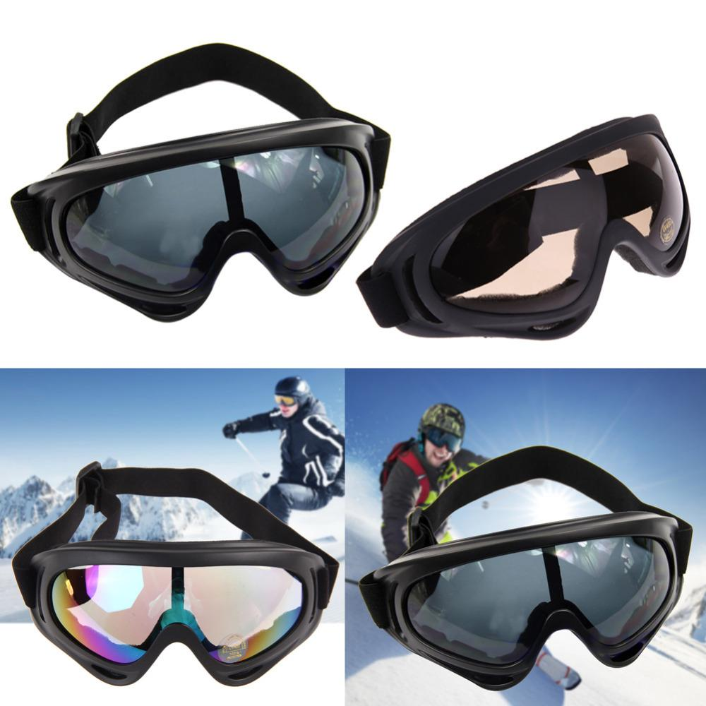 b7e1aae936 2019 New Snowboard Dustproof Sunglasses Motorcycle Ski Goggles Lens Frame  Glasses Paintball Outdoor Sports Windproof Eyewear Glasses From  Achilles qq