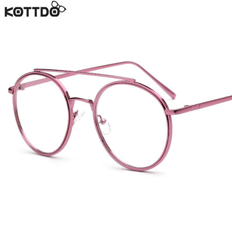 13fc23d1e89 Wholesale- KOTTDO 2017 Retro Clear Eyeglasses Frames Brand Designer ...