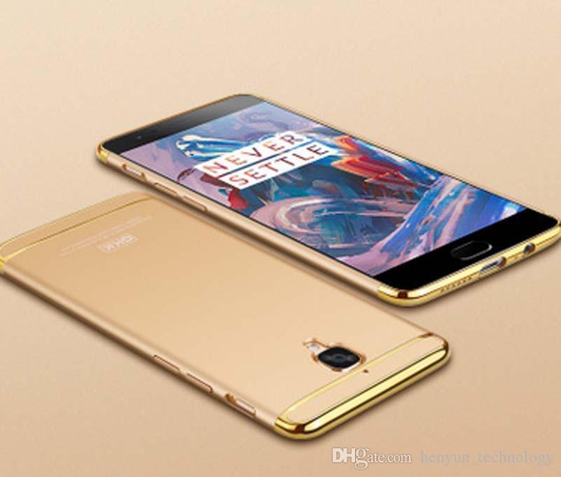 Moda Ultra-Fino Fino Caso Capa Do Telefone PC Difícil Para Oneplus 3 T One plus 3 Caso de Telefone Celular