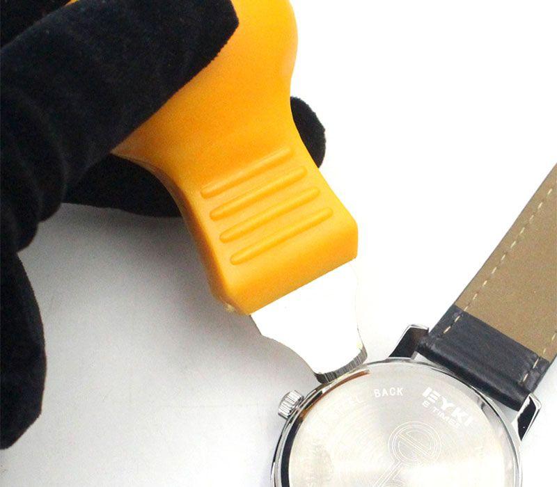 Orologi Cover posteriore apribottiglie Rimuovi coltello Sostituzione batteria Strumento di riparazione dell'orologiaio
